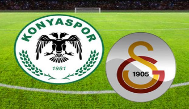 Galatasaray ile Torku Konyaspor 27. maça çıkıyor