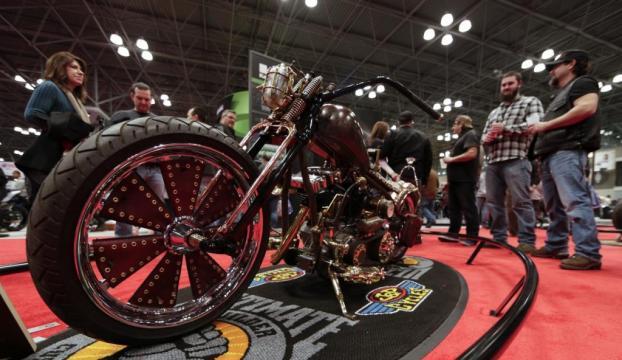2015 model motosikletler New Yorkta görücüye çıktı