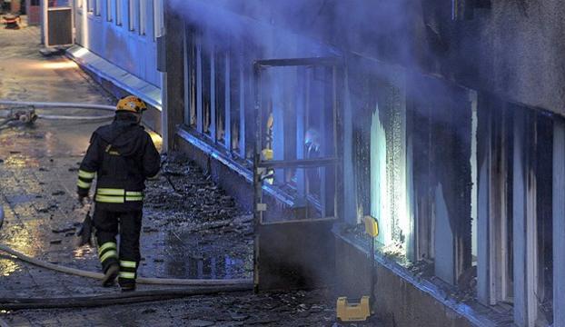 İsveçte bir camiye daha saldırıldı