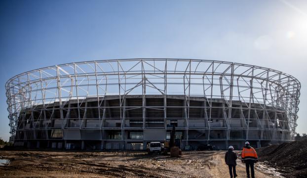 Yeni Adana Stadının yapımı sürüyor