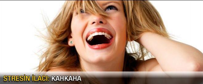 Stresin ilacı: Kahkaha