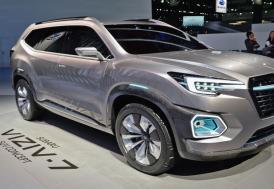Subaru Viziv-7 Concept, Los Angeles'ta görücüye çıktı