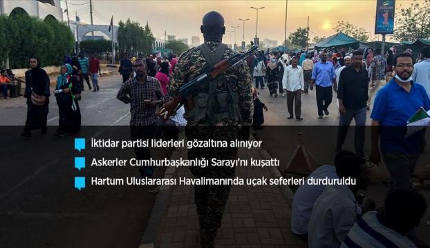 Sudanda askeri hareketlilik