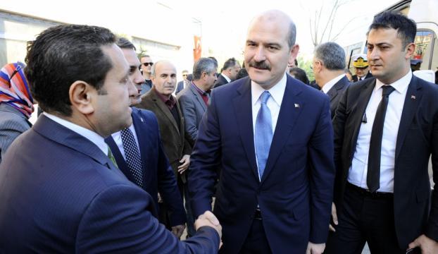 İçişleri Bakanı Soylu İzmirde
