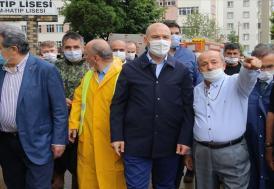 İçişleri Bakanı Soylu: Rize'de selden etkilenen 2 kişi hastanede