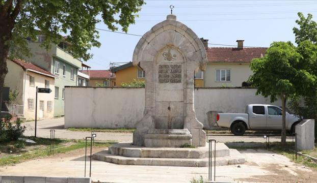 Sultan Reşadın yaptırdığı 111 yıllık çeşme restore edilip turizme kazandırılacak