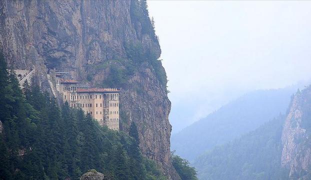 Sümela Manastırı restorasyonun ardından yeniden ziyarete açılacak
