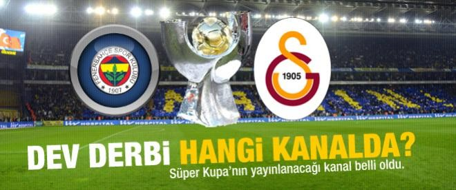 Galatasaray - Fenerbahçe maçı hangi kanalda?