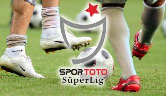 Spor Toto Süper Lig'de toplu sonuçlar