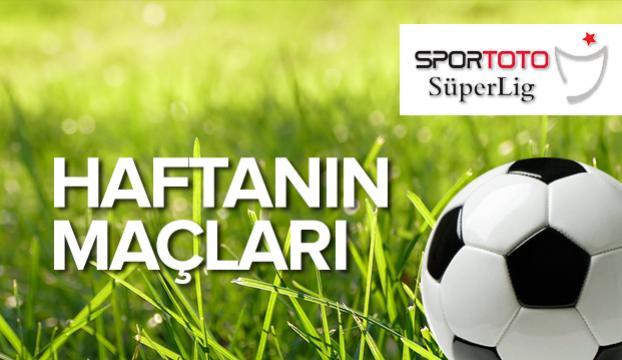 Süper Ligde 9. haftanın programı