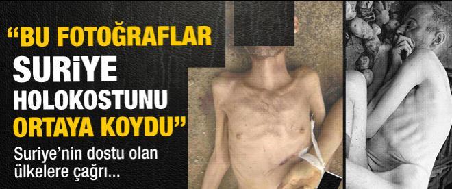 O kareler 'Suriye holokostunu' ortaya koydu