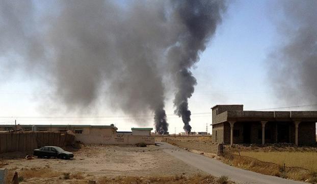IŞİDe üstüste hava saldırıları