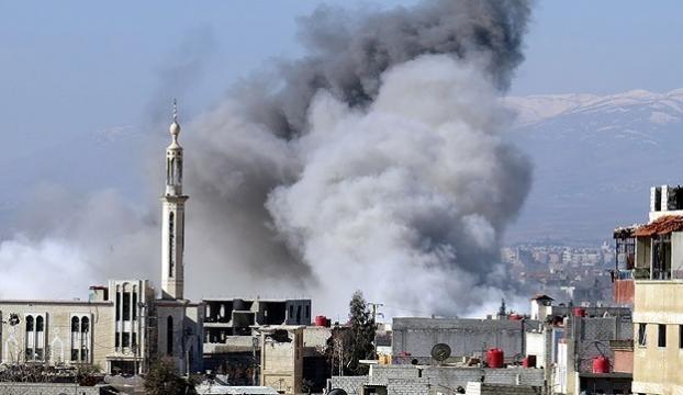 Koalisyon güçleri Suriyede ilkokulu bombaladı