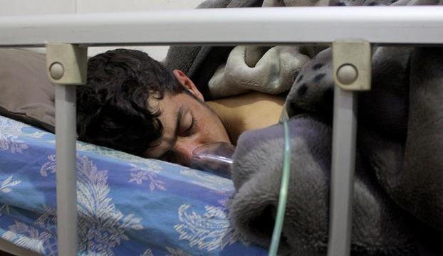 Suriye rejiminden klor gazlı saldırı
