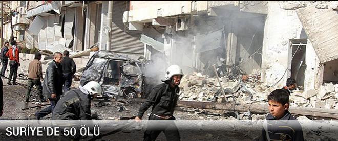 Suriye'de 50 ölü