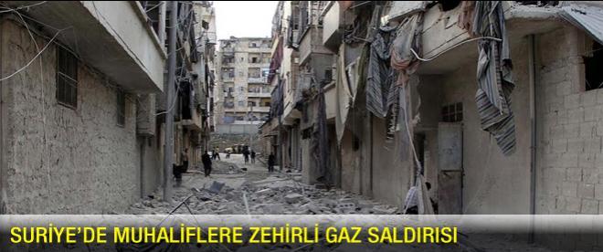 Suriye'de zehirli gaz iddiası