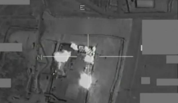 IŞİD mevzileri vuruldu
