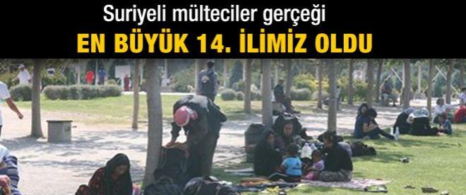 Türkiye'deki Suriyeli sığınmacı sayısı 600 bini aştı