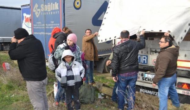 Kırklarelide 25 kaçak ve sığınmacı yakalandı
