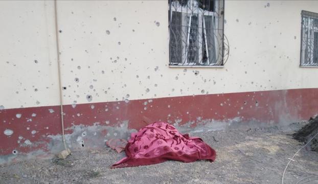 YPG/PKKnın sivillere havanlı saldırısında 2 kişi hayatını kaybetti
