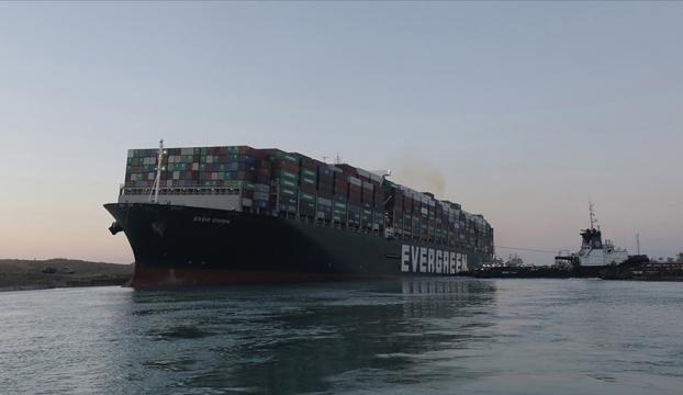 Mısır Süveyş Kanalını günlerce kapatan geminin sahibi firmadan 1 milyar dolar tazminat istiyor