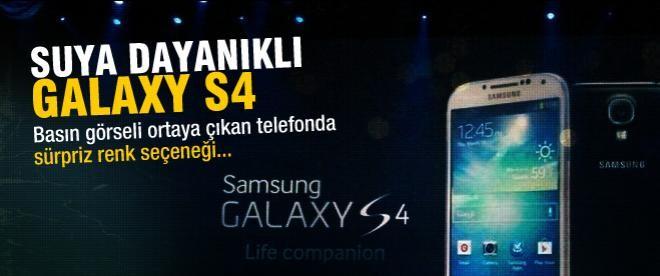 Suya dayanıklı Galaxy S4 Active