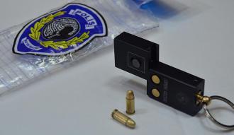 Başkentte ele geçirilen 'anahtarlık tabanca' şaşırttı
