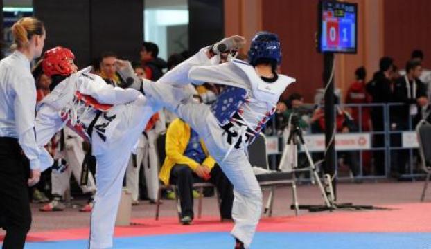 Taekwondo festivali Antalyada sona erdi