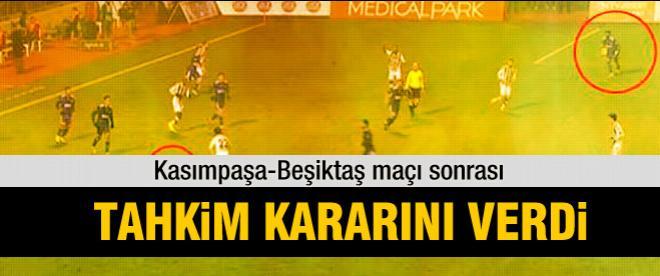 Kasımpaşa-Beşiktaş maçı için karar verildi