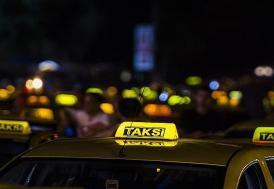İstanbul'da ticari taksilere yönelik denetim