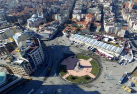 Taksim'de yapılacak caminin temeli atıldı