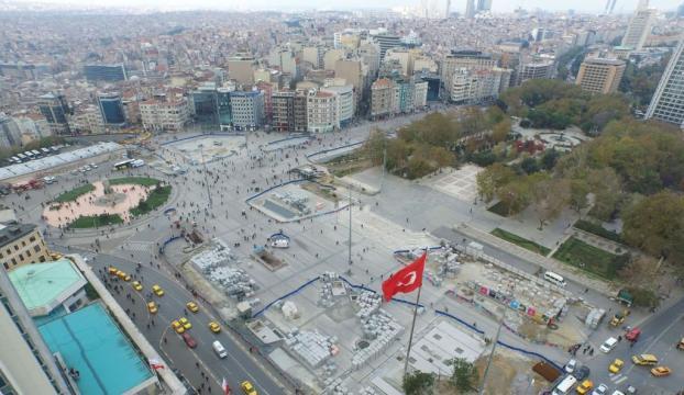Taksimde cami projesine onay