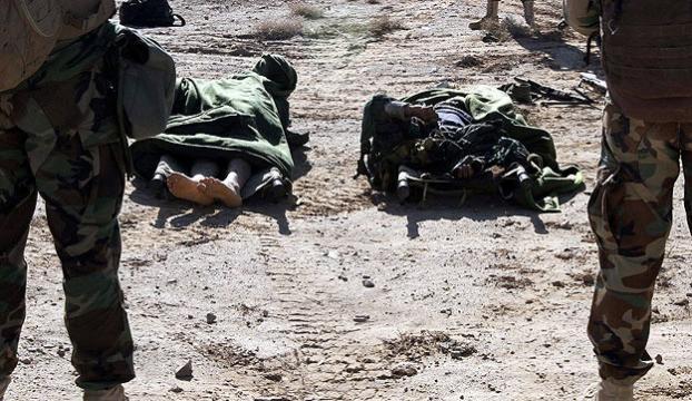 151 militan öldürüldü, 40 ev yakıldı