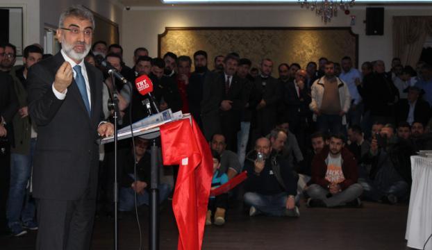 AK Parti Kayseri Milletvekili Yıldız, Almanyada konuştu