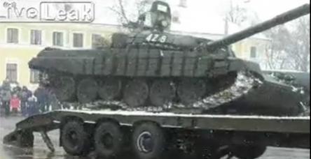 testRömorka tank yüklemek hiçte kolay değil!