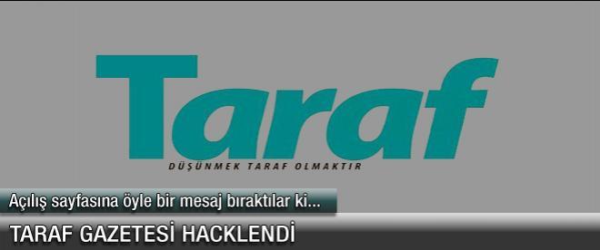 Taraf'ın sayfası hacklendi!