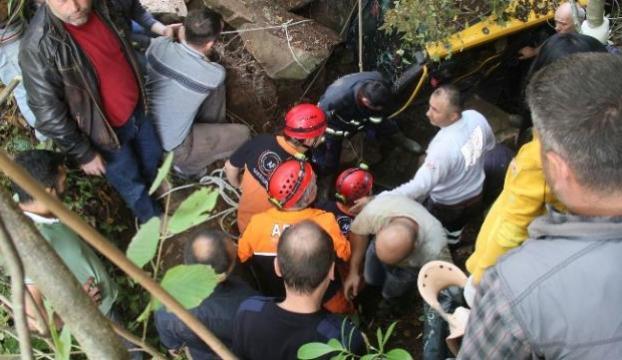 Göçük altında kalan işçi kurtarıldı