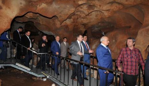 Taşkuyu Mağarası ziyarete açıldı