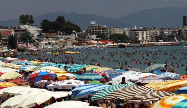 Türkiyede konaklama tesislerinin doluluk oranı arttı