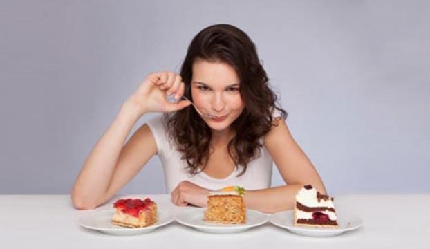 Tatlı yiyerek zayıflanır mı?