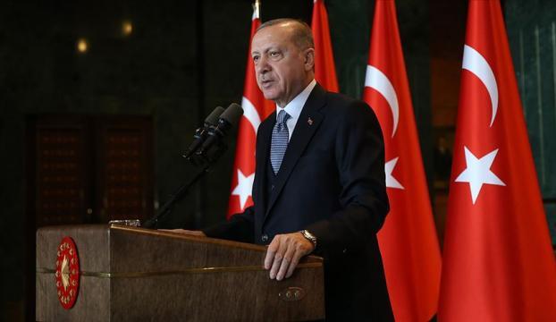 Erdoğan İstanbulun fethini kutladı