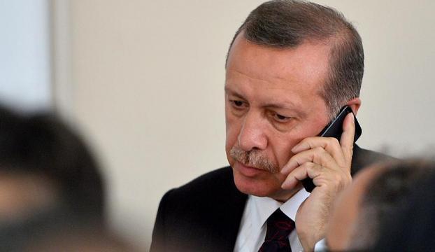 Cumhurbaşkanı Erdoğandan Kavlaka taziye telefonu