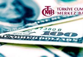 TCMB'nin resmi rezerv varlıkları ocakta 95,7 milyar dolar oldu