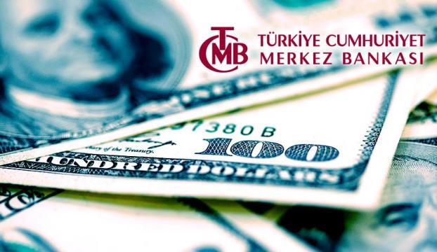 TCMBnin resmi rezerv varlıkları ocakta 95,7 milyar dolar oldu