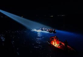 Çanakkale'de 60 yabancı uyruklu yakalandı