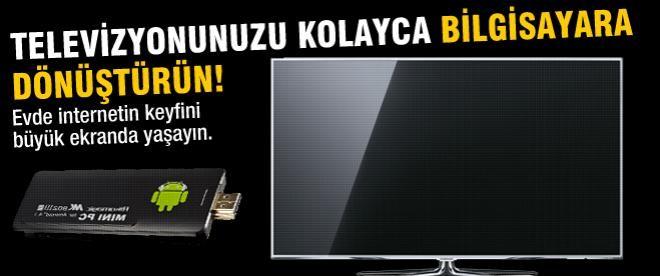 Televizyonunuzu bilgisayara dönüştürün!