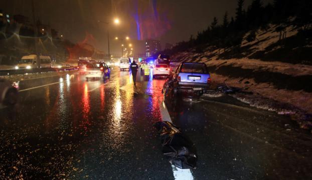 TEMde trafik kazası: 1 ölü