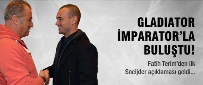 Terim'den Sneijder açıklaması!