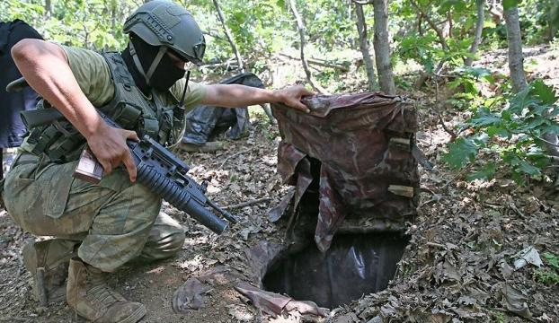 Operasyonlarda bin 127 sığınak, barınak ve mağara imha edildi