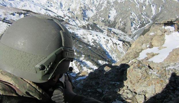 Terör operasyonları ağır kış şartlarına rağmen aralıksız sürüyor